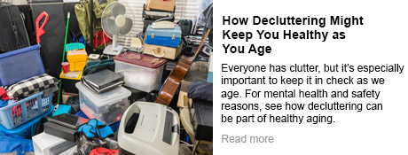 How Decluttering Might Keep You Healthy as You Age