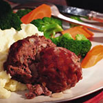 Get the Mini Meatloaves Recipe