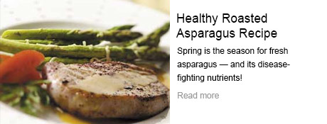 Healthy Roasted Asparagus Recipe