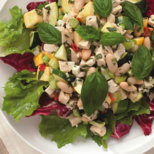 Chicken & White Bean Salad