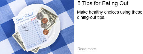 5 Tips for Eating Out