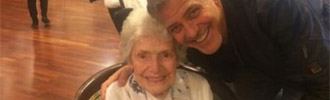 George Clooney Makes an 87-Year-Old Fan Very Happy With Surprise Visit to Nursing Home