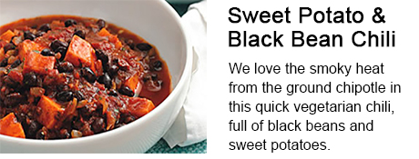 Sweet Potato & Black Bean Chili Recipe