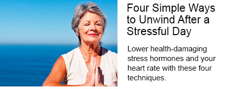 Four Simple Ways to Unwind After a Stressful Day