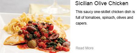 Sicilian Olive Chicken